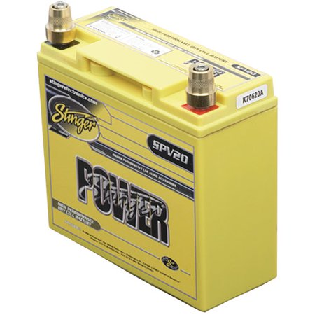 - Stinger SPV20 Power Series Battery, 300A