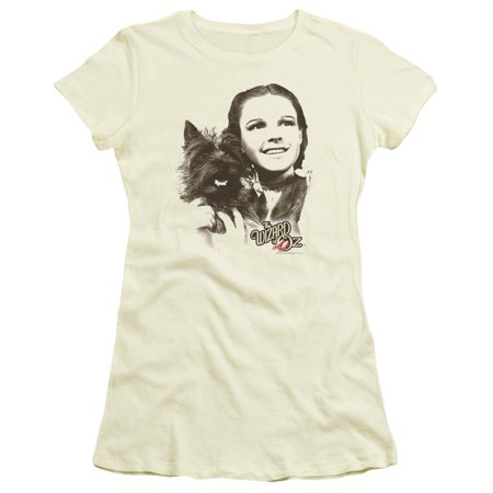 Todo Wizard Of Oz Dog (Wizard Of Oz Dorothy & Toto Juniors Short Sleeve)