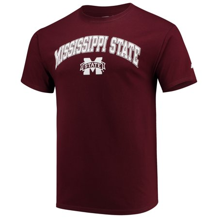 Men's Russell Maroon Mississippi State Bulldogs Core Print