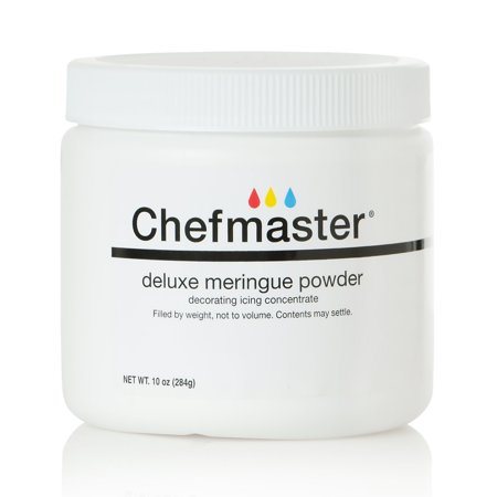 Deluxe Meringue Powder for Baking & Decorating, Certified Kosher Meringue Powder for Buttercream, Royal Icing, Meringue Toppings, Meringue Cookies, and more! 10 oz. Ready to Use Meringue
