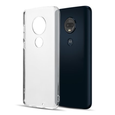 Motorola MOTO G7 Phone Clear Case Hybrid [Drop Cushion] [Crystal Clear] Soft PC Flexible Silicone Gel TPU Bumper Protective Armor Case [Anti Scratch] Transparent Back Cover for MOTOROLA Moto G7