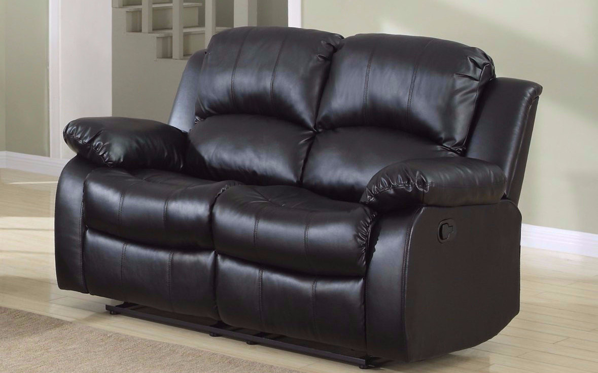 sofa fresh leather console center additional with modern reclining loveseat ideas