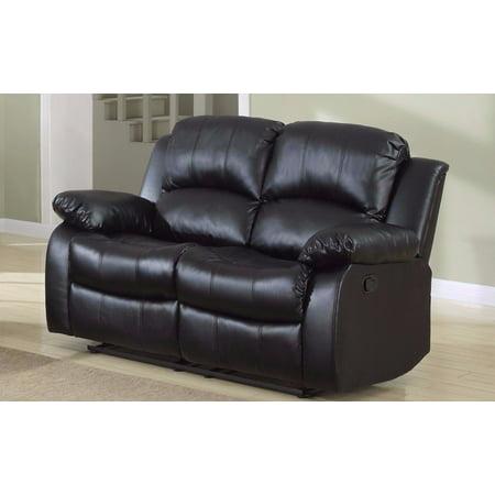 Wondrous Classic 2 Seat Bonded Leather Double Recliner Loveseat Beatyapartments Chair Design Images Beatyapartmentscom