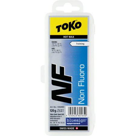 Toko Non Fluorinated Glide Wax: Blue, 120g