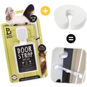 Door Buddy Cat Litter Box Door Latch and Door Stopper
