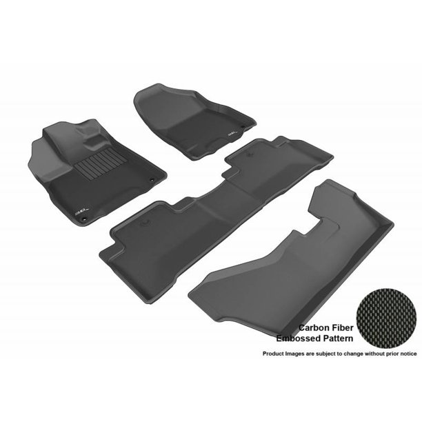 3D MAXpider 2014-2019 Acura MDX With 2nd Row Bench Seat