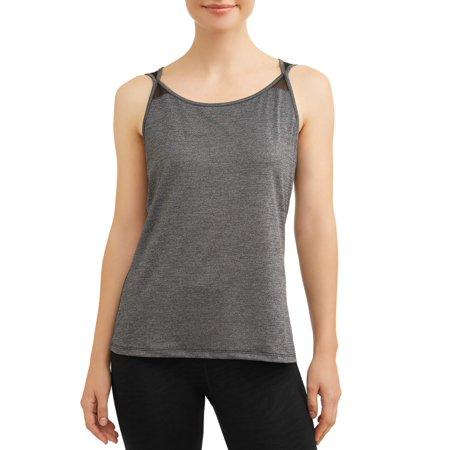 - Women's Active Strappy Tank With Power Mesh
