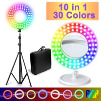 Deals on Comforday 14-inch RGB Ring Light 10 In 1 Kit