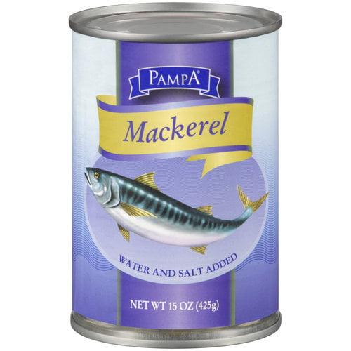 Pampa Mackerel, 15 oz by TRANSNATIONAL FOODS INC
