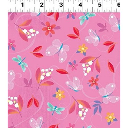 Clothworks Cotton - Clearance Sale~Blossom Bliss by Clothworks  Cotton Fabric