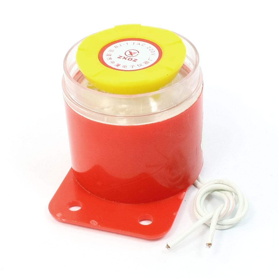 Yellow Red Wired Revers Back up Buzzer Alarm Siren for Building