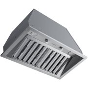 Ancona Pro 28 in. 600 CFM Ducted Insert Range Hood in Stainless Steel
