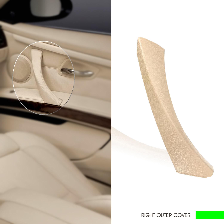InSassy Door Pull Handle Trim Cover for BMW E90 E91 E92 E93 3 - RIGHT 51-41-9-150-340 (Beige)