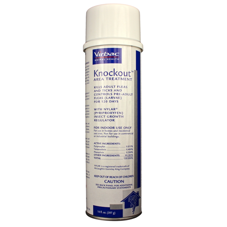 Virbac Knockout Area - Knockout Area Treatment Spray (14 oz)