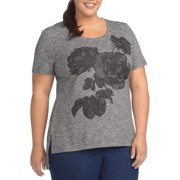 Women's Plus Just My Size Active Graphic Tunic