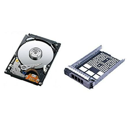 Hard Drive 15k Tray (Dell 600GB 15K 6Gbps 2.5'' SAS Hard Drive with 2.5'' R-Series Tray for PowerEdge R610, R710,T610, T710, R420, R620, R720)