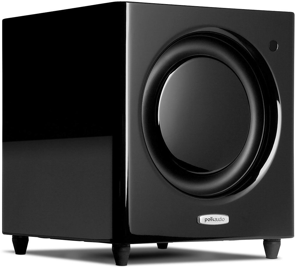 Polk Audio DSW MicroPRO 3000 Subwoofer (Single, Black) by Polk Audio