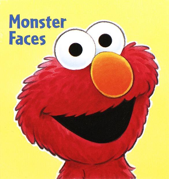 Monster Faces (Sesame Street) (Board Book)