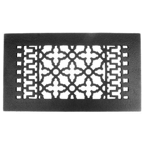 Image of Acorn GL4BG 12 x 6 Cast Iron Air Register - Black