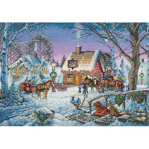 """Dimensions Gold Collection """"Sweet Memories"""" Counted Cross Stitch Kit, 16"""" x 11"""""""