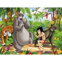 1/4 Sheet Jungle Book Edible Frosting Cake Topper*