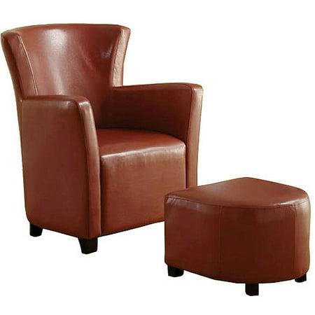 Venetian Half Moon Bay Ii Leatherette Club Chair With