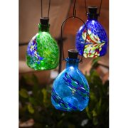 Evergreen Enterprises, Inc 3 Piece Speckle and Splash Solar Wasp Catcher Set