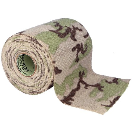 Tactical Camo Form Gun Wrap Protective 4 inch Roll Hunting - Desert (Best Gun For Buffalo Hunting)