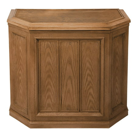 AIRCARE 696 400HB Whole House Credenza Evaporative Humidifier for 3600 sq. ft, Light Oak ()