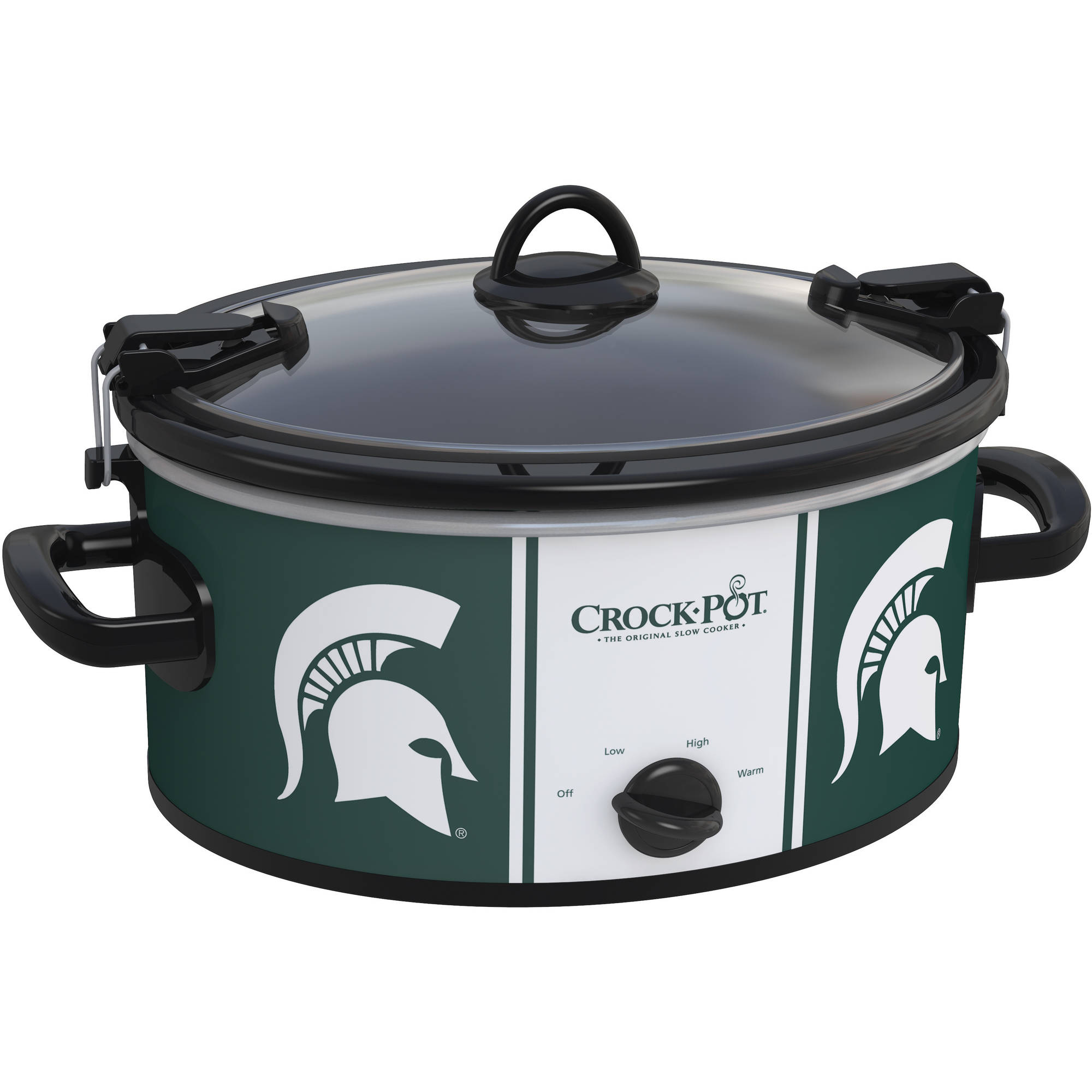 Crock-Pot NCAA 6-Quart Slow Cooker, Michigan State Spartans