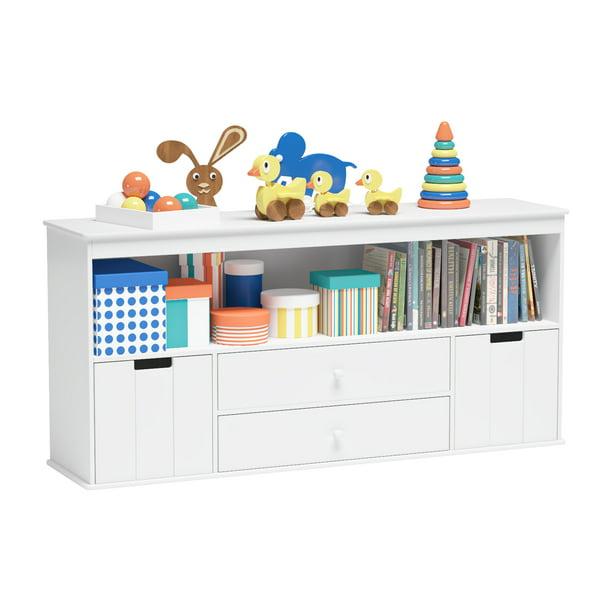 Elephance Kids Toy Storage Cabinet, Playroom Storage Furniture