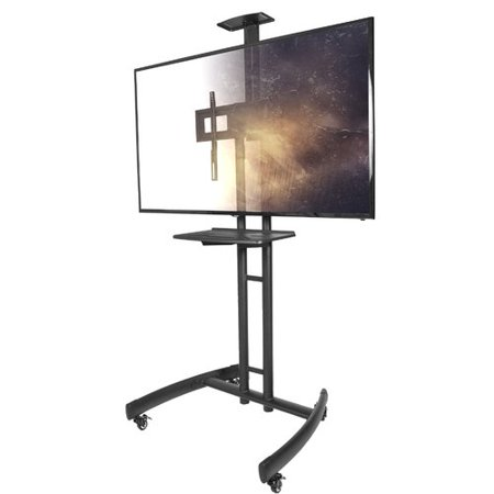 Kanto Mobile TV Fixed Floor Stand Mount Greater than 50'' LCD