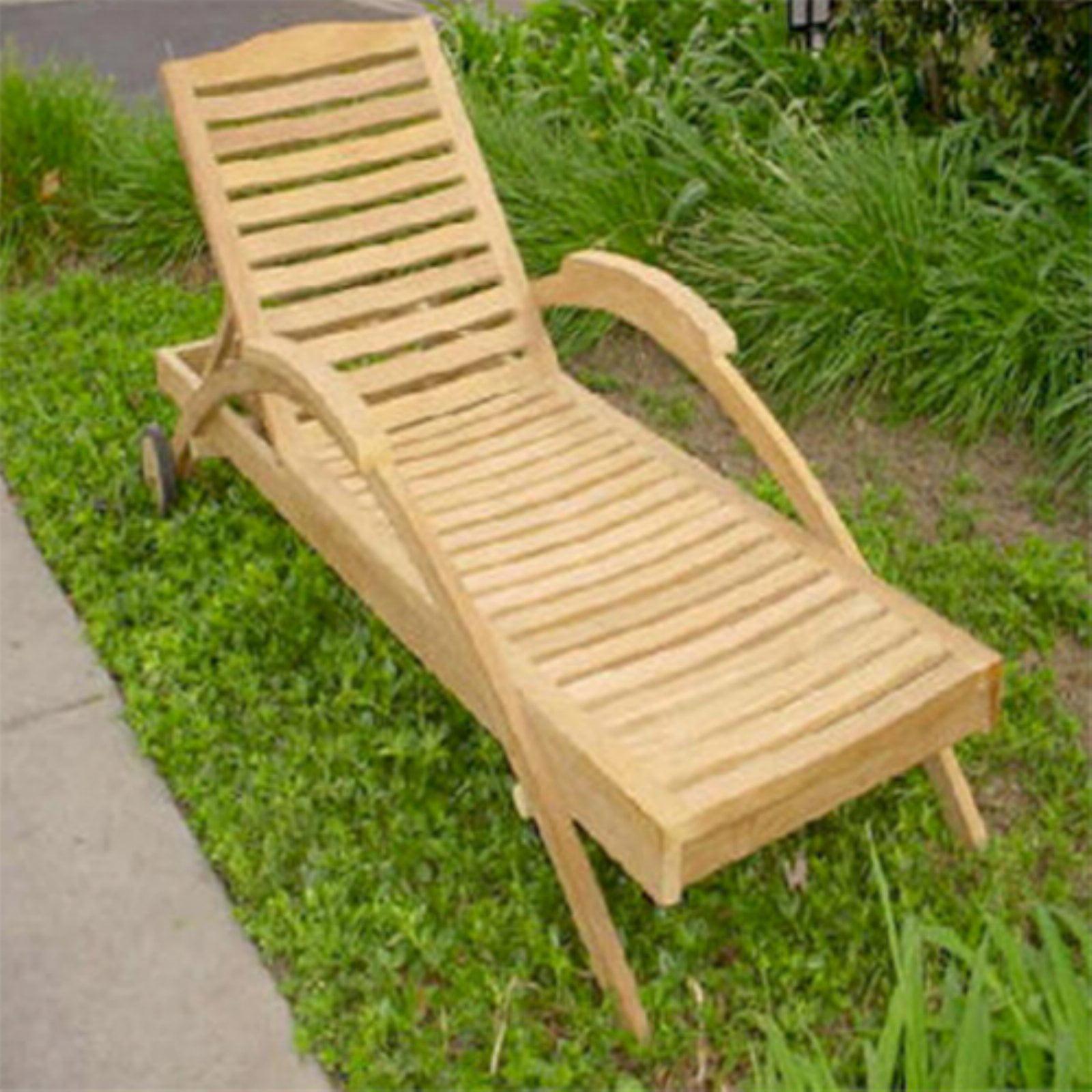 Picture of: Anderson Teak Innova Sun Chaise Lounge Chair Walmart Com Walmart Com