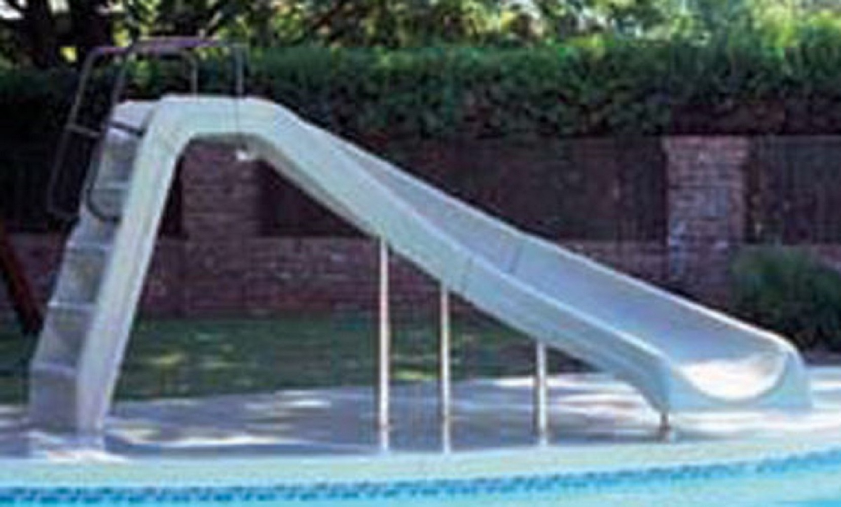 Inter-Fab WWSCLSS Complete Waterslide White WWS-CL-SS by Inter-Fab