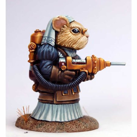 Kingdom Pig (Matron Steam Punk Guinea Pig Miniature Critter Kingdoms Dark Sword)