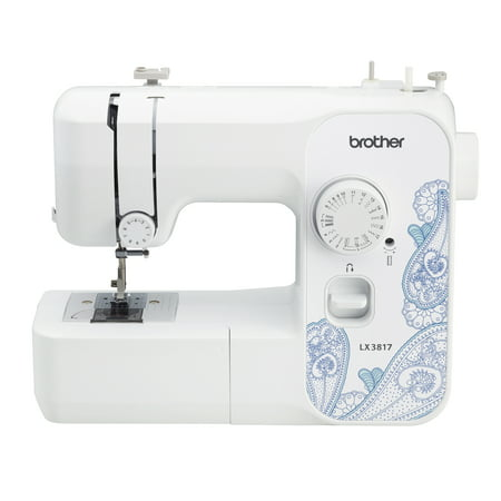 Refurbished Brother 17-Stitch Full-size Sewing Machine, RLX3817