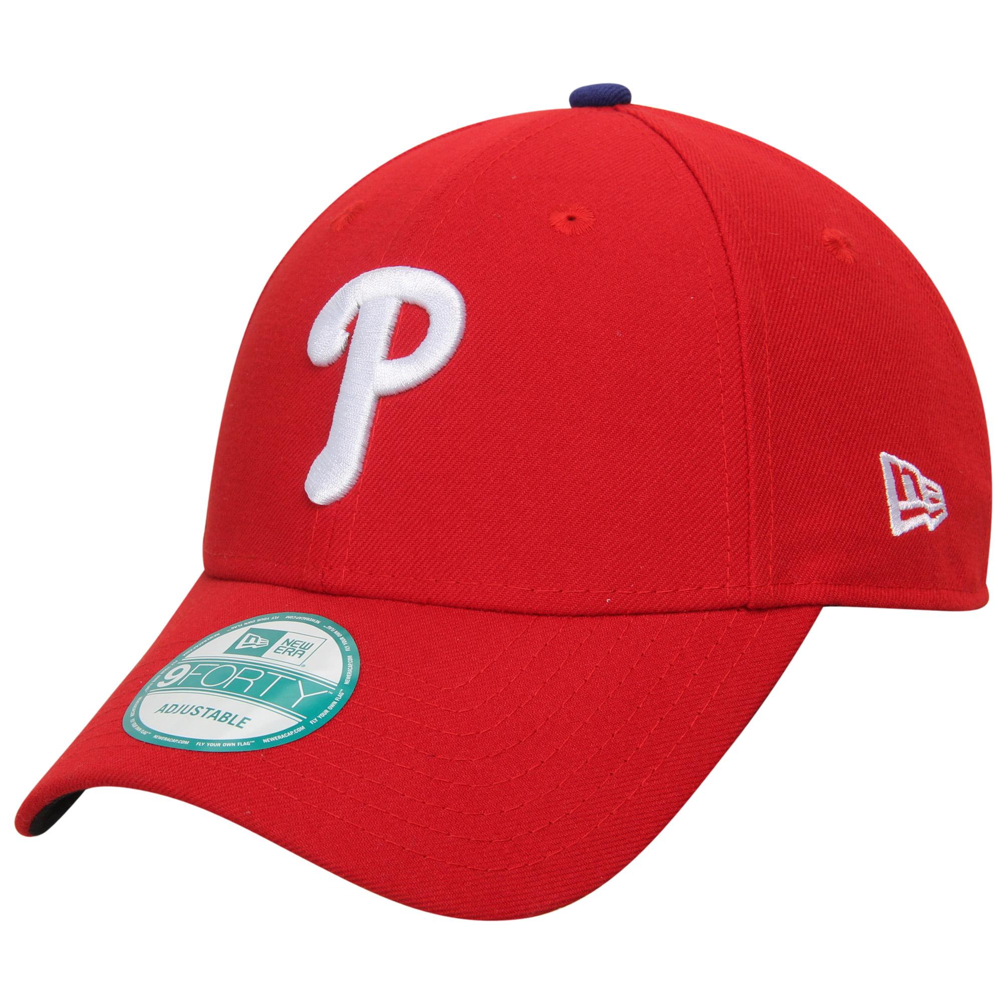 Philadelphia Phillies New Era Men's League 9Forty Adjustable Hat - Red  - - OSFA