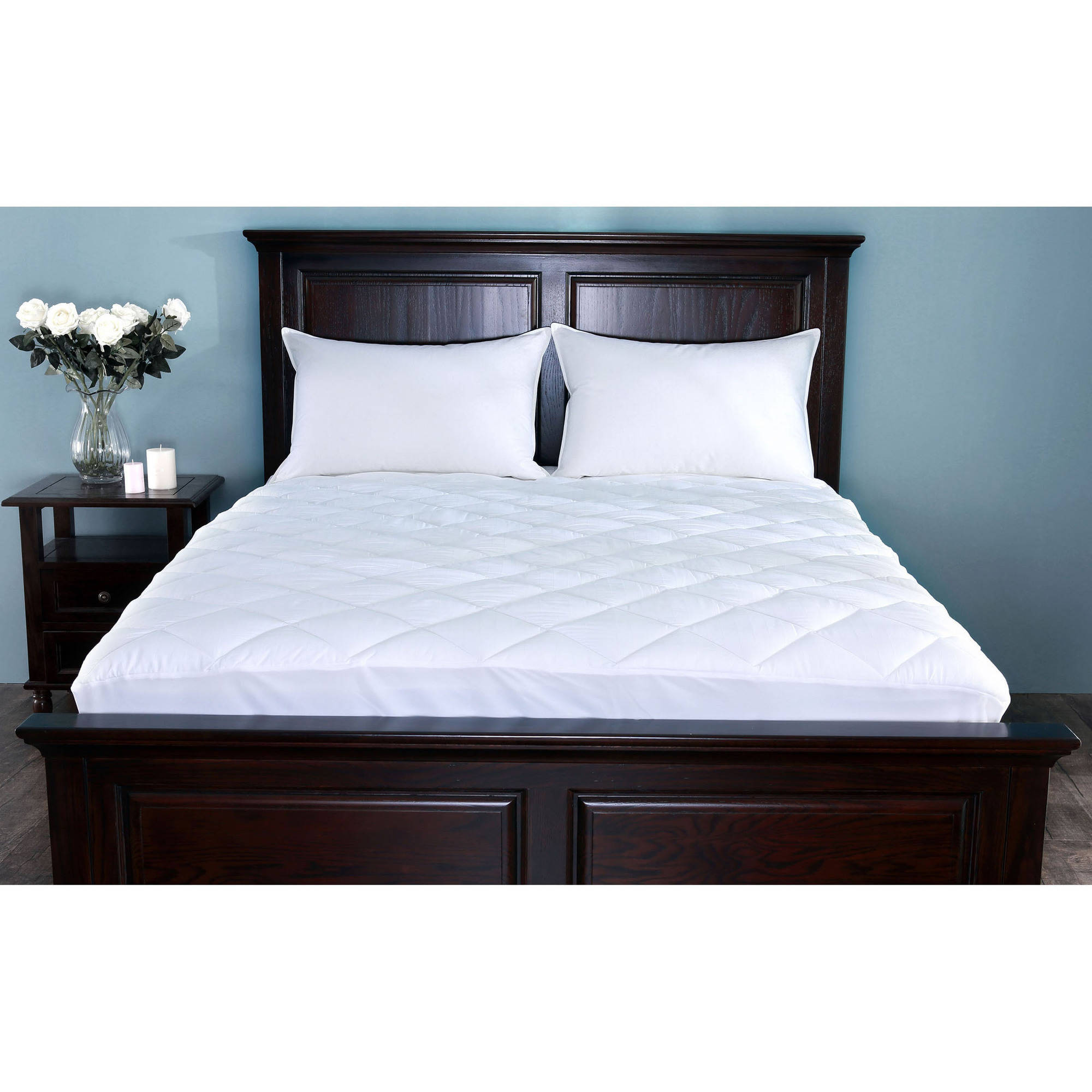 St. James Home Waterproof Stain Resistant Mattress Pad