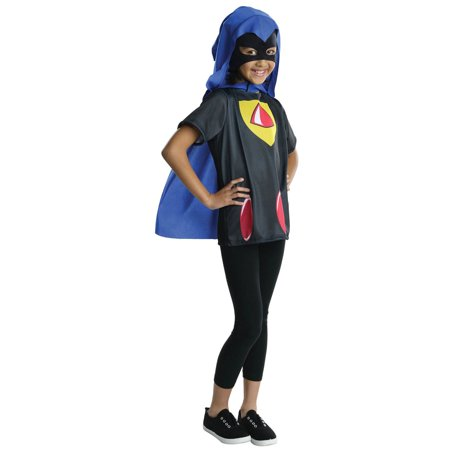 Kids Teen Titans Raven Costume Top