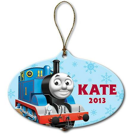 Personalized Thomas & Friends Snowfall Christmas Ornament - Friend Ornaments