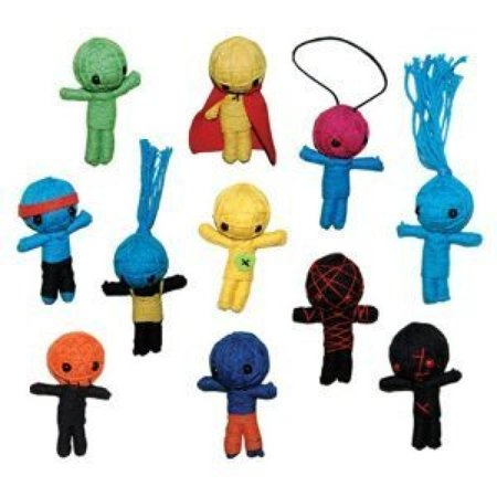 String VooDoo Dolls - set of 11 small dolls](Hello Kitty Voodoo Doll)