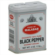 Malabar Ground Black Pepper 4oz(113g)