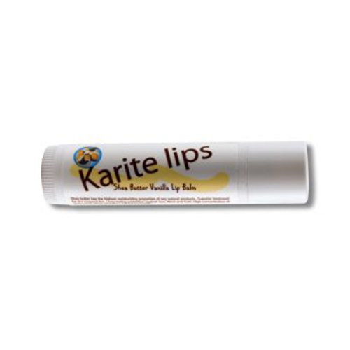 Karite Lips Shea Butter Lip Balm With Vanilla By Mode De Vie - 0.15 Oz