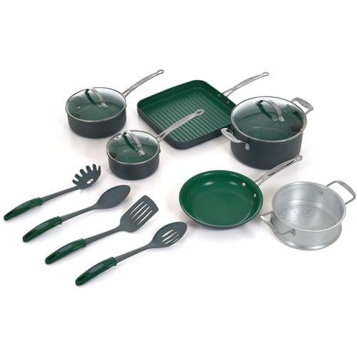 Orgreenic 13-Piece Non-Stick Cookware Set