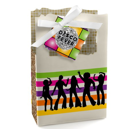 70's Disco - 1970's Disco Fever Party Favor Boxes - Set of 12 (Disco Party Supplies)