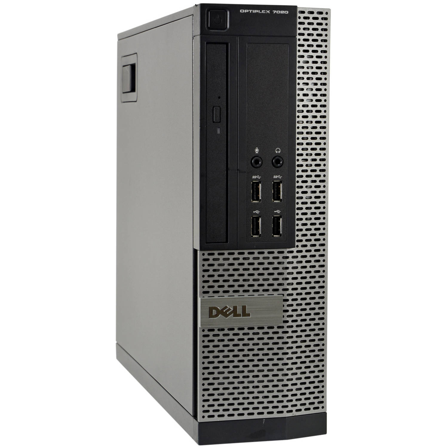 Refurbished Dell 7020-SFF Desktop PC with Intel Core i7-4770 Processor, 8GB Memory, 500GB Hard Drive and Windows 10 Pro (Monitor Not Included)