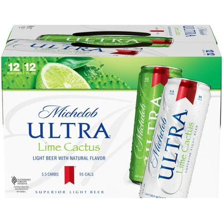 Michelob Ultra Lime Beer, 12 pk 12 fl. oz. Cans - Walmart.com  Michelob Ultra ...