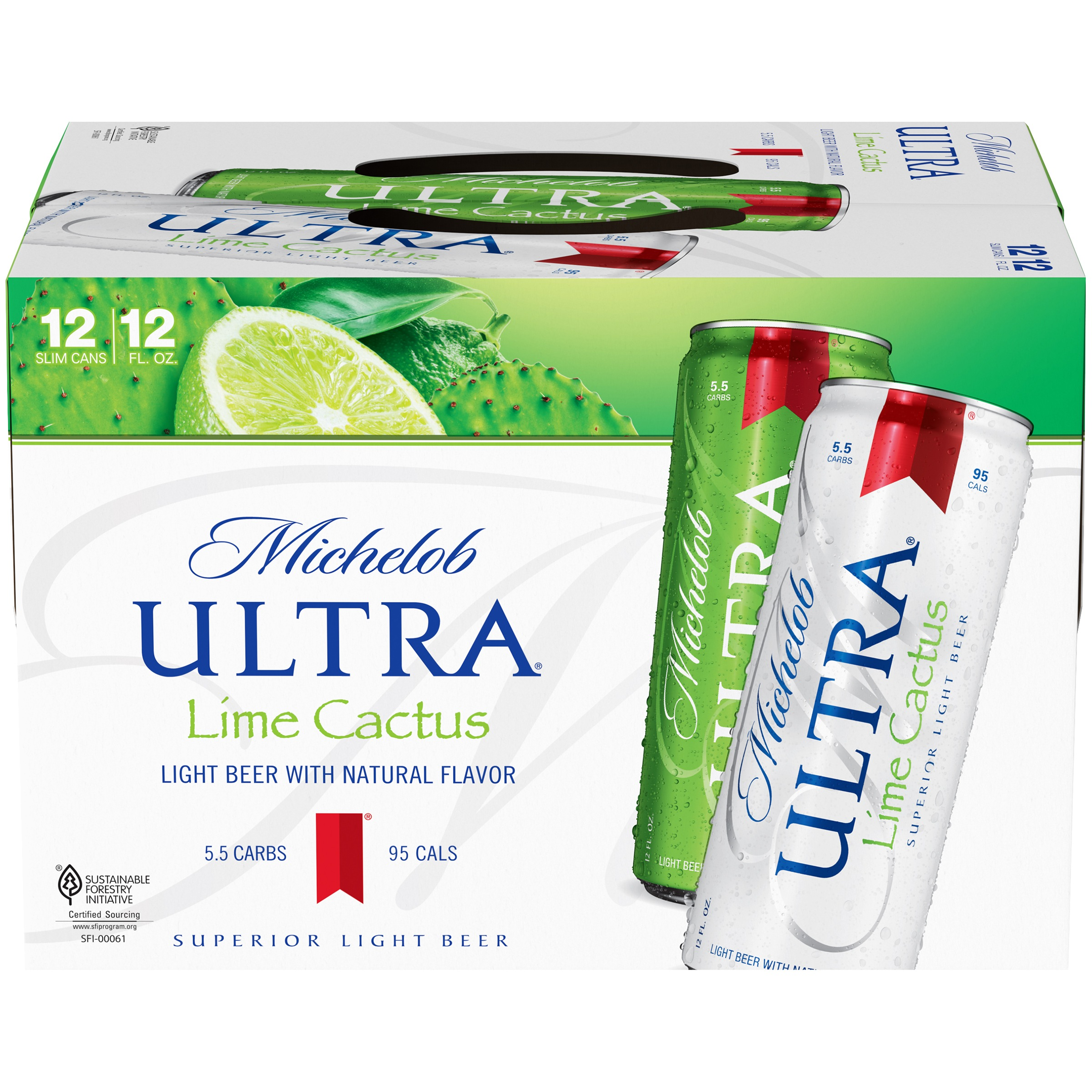 Michelob Ultra Lime Beer, 12 pk 12 fl. oz. Cans