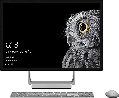 Microsoft Surface Studio Intel Core i7 16GB Memory 1TB Rapid Hybrid Drive Silver by Microsoft