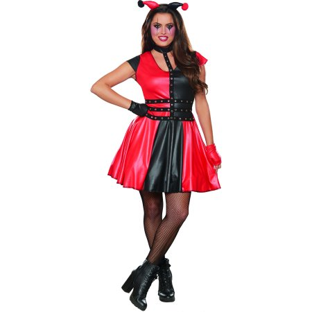 Cheap Jester Costume (Women's Dark Jester Halloween)